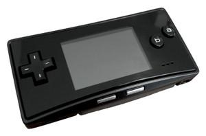 Game Boy Advance Micro System Black