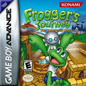 Frogger's Journey The Forgotten Relic - Game Boy Advance Game