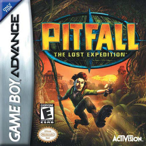 Pitfall The Lost Expedition - Game Boy Advance Game