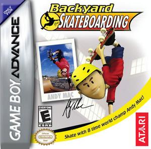 Backyard Skateboarding - Game Boy Advance Game