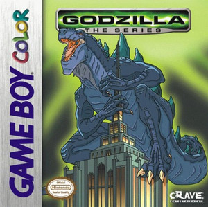 Godzilla The Series - Game Boy Color Game