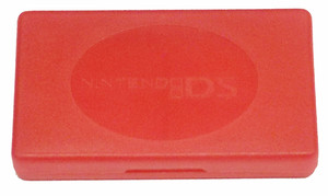 Plastic Game Case Red - DS