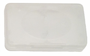 Plastic Game Case Double Hinged Clear - DS