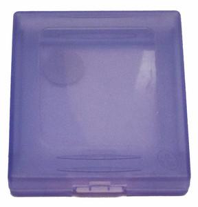 Intec Plastic Game Case Purple - Game Boy