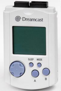 Original VMU Memory Card White - Dreamcast
