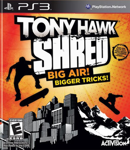 Tony Hawk Shred  PS3 Game