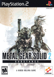 Metal Gear Solid 2 Substance - PS2 Game