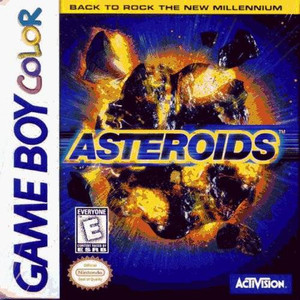 Asteroids - Game Boy Color Game