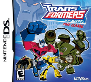 Transformers Animated The Game Nintendo DS Game
