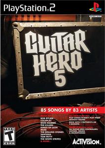 Guitar Hero 5 - PS2 Game