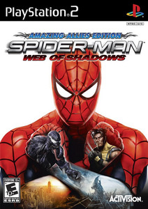 Spider-Man Web of Shadows Amazing Allies Edition - PS2 Game