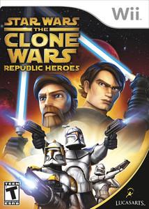 Star Wars The Clone Wars Republic Heroes Nintedno Wii Game