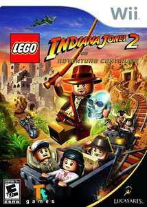 Lego Indiana Jones 2 The Adventure Continues Ninetndo Wii game