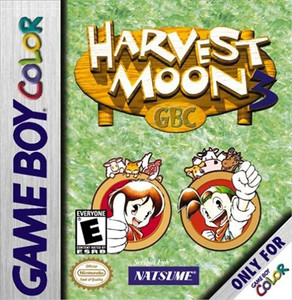 Harvest Moon 3 - Game Boy Color Game