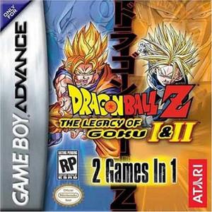 Dragon Ball Z The Legacy of Goku I & II - Game Boy Advance Game