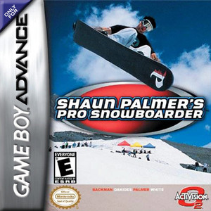 Shaun Palmer's Pro Snowboarder - Game Boy Advance Game
