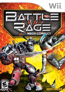 Battle Rage Mech Conflict - Wii Game