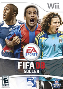Fifa Soccer 08 Wii Game
