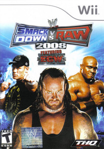 WWE SmackDown vs. Raw 2008 Nintendo Wii Game