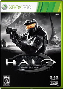 New Halo Anniversary - Xbox 360 Game