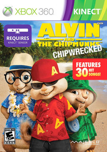Alvin and the Chipmunks Chipwrecked - Xbox 360 Game