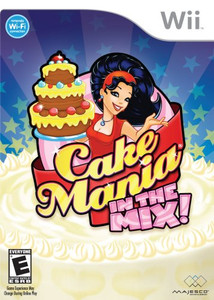 Cake Mania In The Mix - Wii game
