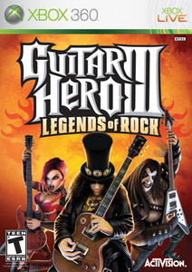 Guitar Hero III Legends of Rock - Xbox 360 Game