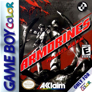Armorines Project SWARM - Game Boy Color Game