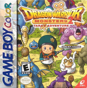 Dragon Warrior Monsters 2 Tara's Adventure - Game Boy Color Game