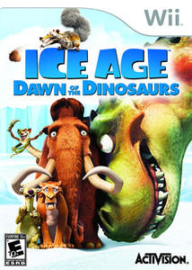 Ice Age Dawn of the Dinosaurs - Wii Game