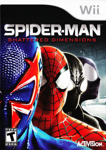 Spider-Man Shattered Dimensions - Wii Game