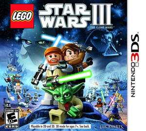Lego Star Wars III - 3DS Game