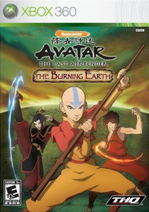 Avatar The Last Airbender The Burning Earth - Xbox 360 Game