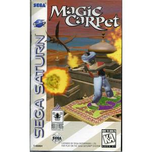 Magic Carpet - Saturn Game
