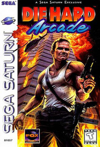 Die Hard Arcade - Saturn Game