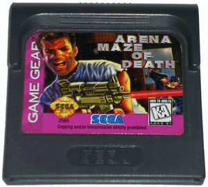 Arena Maze of Death - Game Gear Game