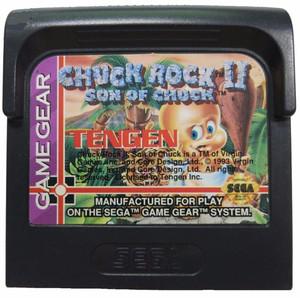 Chuck Rock II Son of Chuck - Game Gear Game
