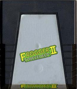 Frogger II Threedeep! Atari 2600 Game