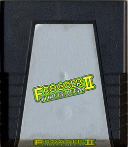 Frogger II Threedeep! Atari 2600 Game