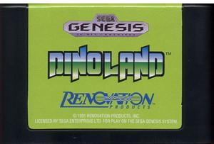 Dinoland - Genesis Game Cartridge