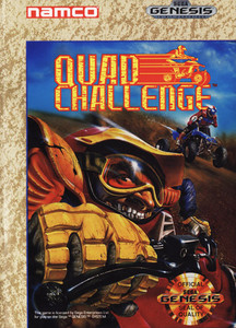 Quad Challenge - Genesis Game Box