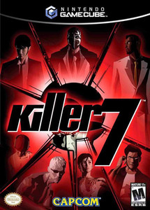 Killer 7 GameCube game
