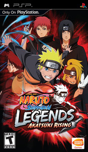 Naruto Shippuden Legends - PSP Game