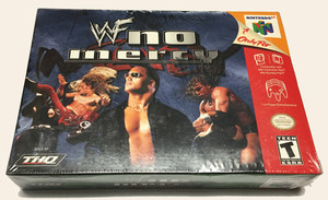 WWF No Mercy - N64 Factory Sealed Game cover