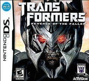 Transformers Revenge of the Fallen Decepticons - DS Game