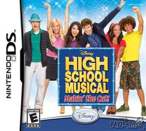 High School Musical Makin' the Cut!, Disney - DS Game