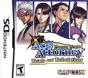 Phoenix Wright Ace Attorney Trials and Tribulations - DS Game