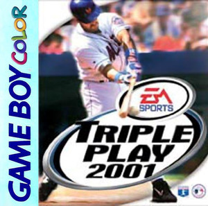 Triple Play 2001 - Game Boy Color Game