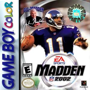 Madden 2002 - Game Boy Color Game
