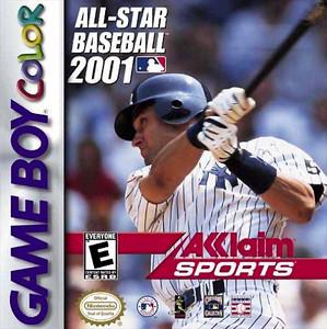 All-Star Baseball 2001 - Game Boy Color Game